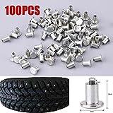 100 Stücke Reifen Spikes, 9mm / 0,35