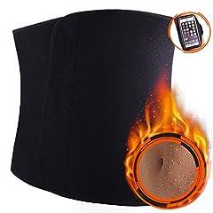 WIN.MAX Bauchweggürtel,Fitnessgürtel,Fitness Gürtel,Schwitzgürtel zur Fettverbrennung