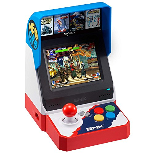 SNK Neo Geo Mini 40th Anniversary Console System Asia Pacific Version (English, Japanese) (Farbe Anniversary 40th)