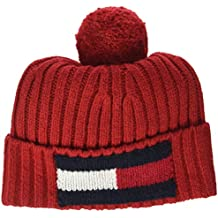 Amazon.es  gorros lana hombre - Rojo 1ea8a8a2435