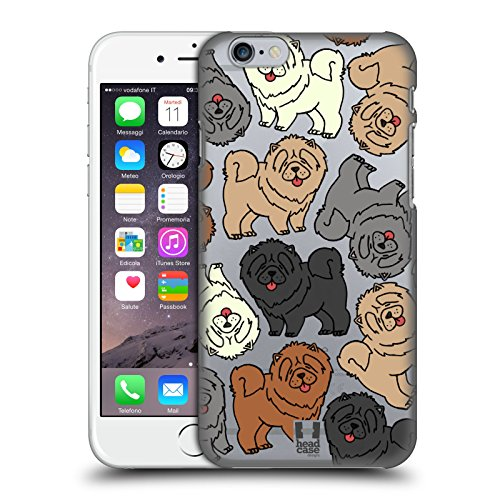 Head Case Designs Airedale Terrier Hunderasse Muster 4 Ruckseite Hülle für Apple iPhone 5 / 5s / SE Chow Chow