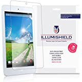 iLLumiShield - Acer Iconia One 7 B1-770 Screen Protector Japanese Ultra Clear HD Film with Anti-Bubble and Anti-Fingerprint - High Quality Invisible Shield - Lifetime Warranty - [3-Pack]