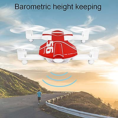 Model Toy RC HD Quadcopter Camera,Mini RC Quadcopter Drone Camera, Foldable FPV Drone,TUDUZ 2.4G 4CH Altitude Hold HD Camera WIFI FPV RC Quadcopter Drone Selfie Foldable
