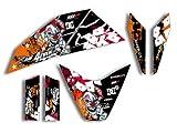 Supermoto 690 R (2007-2010)   Factory DEKOR Decals KIT Aufkleber Graphics