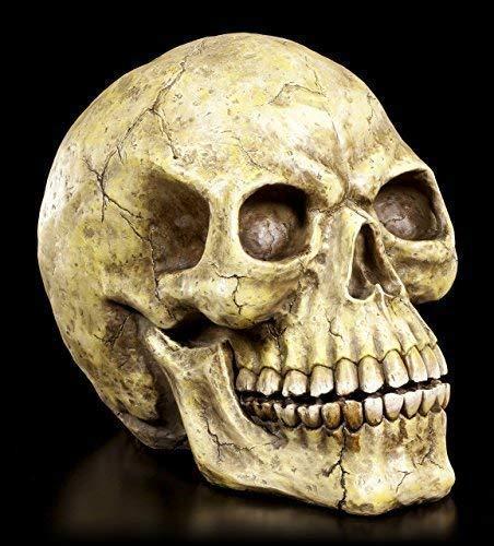 Totenkopf groß XXL - Schädel Figur Totenschädel Skull Deko