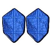 Wildlead 1Paar Wiederverwendbar Automatische Überschuhe Socke auto-package Schuhüberzieher, blau