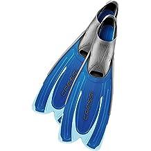 Cressi Agua, DP206245 Aletas de Natación en la Piscina, Azul, 45/46