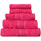 Catherine Lansfield Cl Home Hand Towel, Hot Pink