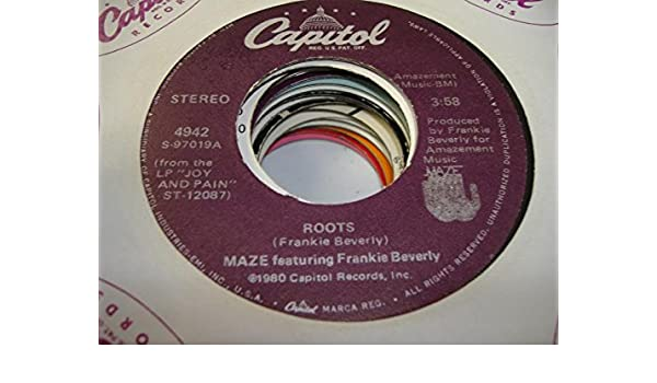 1cde4c372d9 MAZE 45 RPM Roots   The Look in Your Eyes  Amazon.co.uk  Music