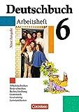 Deutschbuch Gymnasium 6. Schuljahr - Arbeitsheft mit Lösungen