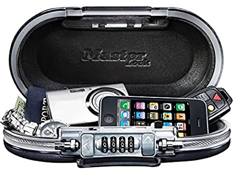 Safe space Combination travel lock box with cable - Secure your belongings while travels