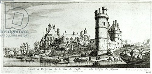 perspective-view-of-the-tour-de-nesle-and-the-hotel-de-nevers-engraving-b-w-photo-180004-aluminium-d