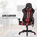 Best X Rocker Chair For Backs - LIFE CARVER Gaming Chair Racing Chair High Back Review