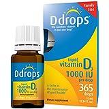 D Gouttes Liquide Vitamine D3 1000 IU - 0.3118 ml