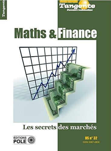 Maths et finance - Les secrets des marchés
