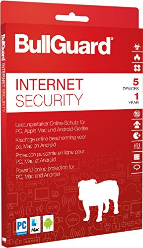 BullGuard Internet Security 2018 1 Jahr/ 5 Geräte
