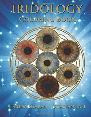 Iridology Coloring Book por Farida Sharan ND