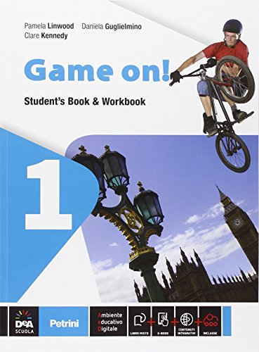 Game on! Student's book-Workbook-Grammar. Per la Scuola media. Con e-book. Con espansione online: 1