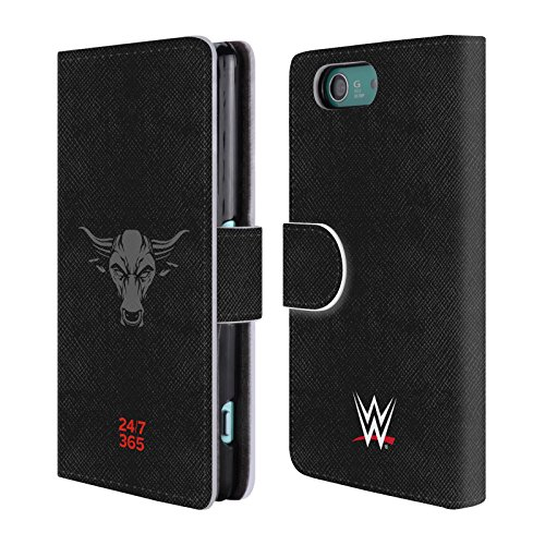 official-wwe-brahma-bull-the-rock-leather-book-wallet-case-cover-for-sony-xperia-z3-compact-d5803