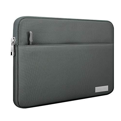 MoKo Kompatibel mit 9-11 Inch Sleeve Tasche, Schutzhülle mit Reißverschluss & 2 Tasche aus Polyesterfaser für iPad Pro 11, iPad 10.2 2019, iPad Air 3 10.5