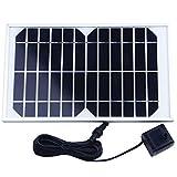 SODIAL (R) Energia Pannello solare pompa ad acqua per la fontana Stagno 12V 380L / H
