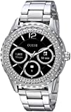 Guess Jemma Ladies Touch AMOLED Silber Smartwatch Smartwatch – (AMOLED Touchscreen, 24 h, Silber)