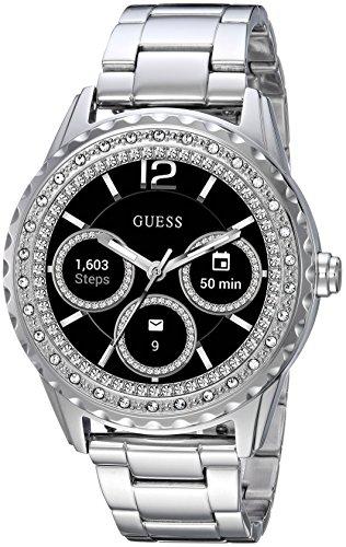 GUESS Jemma Ladies Touch AMOLED Plata Reloj Inteligente - Relojes Inteligentes (AMOLED, Pantalla táctil, 24 h, Plata)