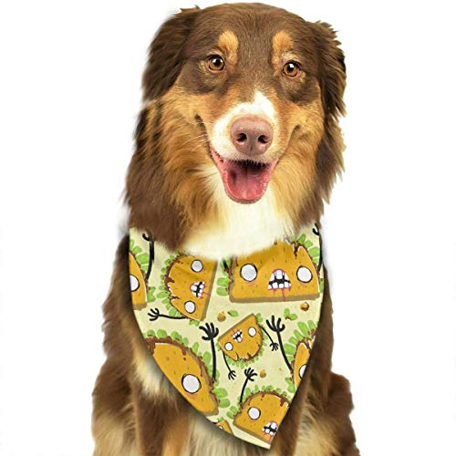 t Bandana Triangle Dog Cat Neckerchief Bibs Scarfs Accessories for Pet Cats and Baby Puppies ()