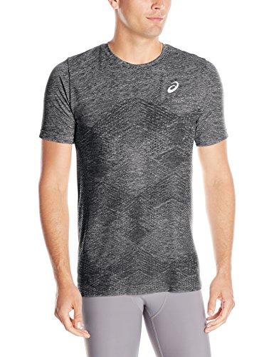 ASICS Herren Seamless Short Sleeve Top, Herren, Performance Black, Large