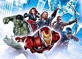 1art1 77950 The Avengers - Iron Man, Hulk, Thor Und Helden, Collage Fototapete Poster-Tapete 160 x 115 cm