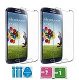 2x »Samsung Galaxy S4« Panzerglas Displayschutzfolie | Blasenfrei | Ultra-HD | Bruchsicher | Rytek Panzerglasfolie ►lebenslange Garantie
