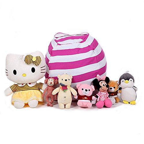 Geekbuzz Multifunktional Spielzeug Sitzsack Aufbewahrung Kleidung & Decken Stofftier Plüsch...