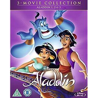 Aladdin Triplepack [Blu-ray] [2018] [Region Free]