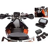 Ultimateaddons Moto Pro Guidon Attachement + étui Pour Garmin Nuvi Sat Nav GPS - Medium - 135 x 85 x 50mm