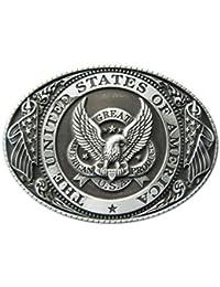 de9a9104e4799c Gürtelschnalle U.S.A. Amerika USA 3D Optik für Wechselgürtel Gürtel  Schnalle Buckle Modell ...