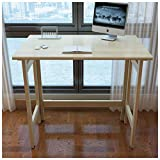 SMC table Klapptisch Faltender Schreibtisch des festen Holzes - tragbares Ausgangslernen, zum der Laptop-kleinen quadratischen Tabelle zu Essen
