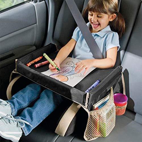 Tavolino Da Auto.Tavolino Da Viaggio Per Bambini Morbido Impermeabile Portatile Per Attivita E Mangiare Snack Resistente Utilizzabile Anche Come Borsa Da