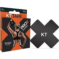 KT TAPE PRO X, elastische Sportpads, 15 Einheiten, Farbe Schwarz preisvergleich bei billige-tabletten.eu
