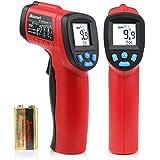 Termómetro de infrarrojos, láser Punto Termómetro Blustmart infrarrojo sin contacto digital -50 ℃ a 550 ℃ (Rojo & Negro )