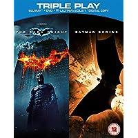 [UK-Import]The Dark Knight /Batman Begins Triple Play Blu Ray