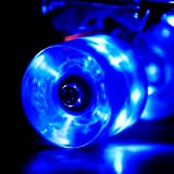 Wonnv LED Wheels Skateboard Cruiser with ABEC-7 Bearings 59 x 45 mm Set of 6