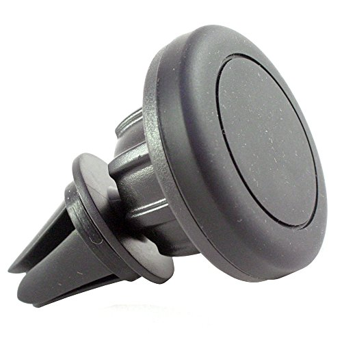360° KFZ Magnethalterung für LG G5 / G5 SE / x-screen / x-cam / x-mach / x-power / Nexus 4 5 5X / K4 LTE / K3 LTE / K10 / K8 / K7 / V10 / Class / Bello 2 / G4 / G4 s / G4 c / Magna / Spirit LTE / Spirit / Leon LTE / Leon / Joy / G3 / Magnet Halterung für die Lüftung im Auto und LKW in schwarz
