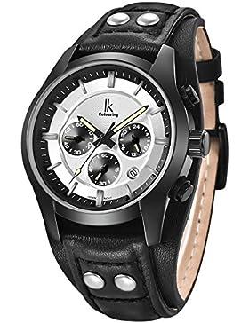 Alienwork Quarz Armbanduhr Multi