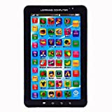 #4: Alfa Mart P1000 Kids Educational Learning Tablet Computer, Black