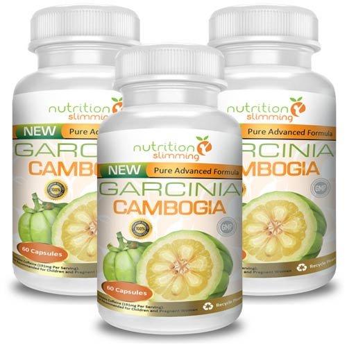 Garcinia cambogia (3 mois) - OFFRE FANTASTIQUE! Le supplément de perte de poids basé sur Garcinia cambogia, forte vendus en France - Complément alimentaire minceur de première qualité - une forte concentration de l'extrait pur de Garcinia - 100% naturel - certifié efficacité, la qualité et la sécurité - Convient aux végétaliens et les végétariens - 180 capsules -