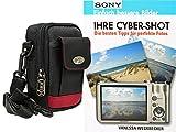 Foto Kamera Tasche Bag mit Regencape plus Handbuch Ihre Cybershot Sony