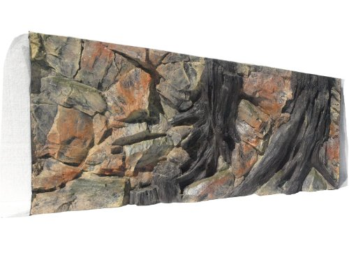Aquarium Rückwand 3d Wurzel 120x50cm bei Robizoo