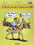 L'histoire de France en BD, Tome 2 - Du Moyen Age à la Révolution