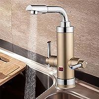 3000W Instant Tankless Elektrische Warmwasser-Heizung Wasserhahn K/üChe Badezimmer Sofortige Heizung Hahn Mit Dusche Kopf 57CM-9W