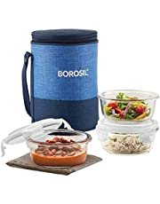 Borosil Prime Glass Lunch Box